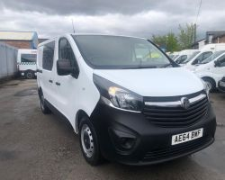 Vauxhall Vivaro Secure vehicle 2014  (SV8)